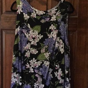 J. Jill Wearever sleeveless dress flap front 2x